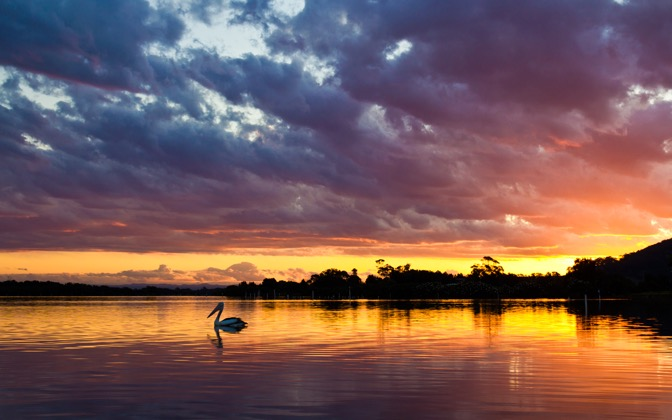 High-resolution desktop wallpaper Sunset on Fire by repomonkey