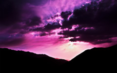 High-resolution desktop wallpaper Purple Morning by salar