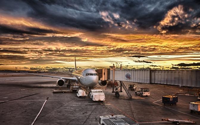 High-resolution desktop wallpaper Sunset Departure by Philippe Clairo