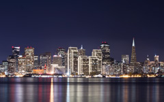 High-resolution desktop wallpaper Across the Bay by RetracecarteR
