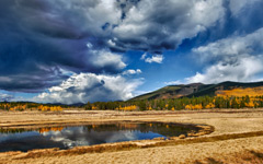 High-resolution desktop wallpaper Aspen Wetland by jbkalla