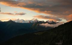High-resolution desktop wallpaper Mont Blanc by alexstrohl
