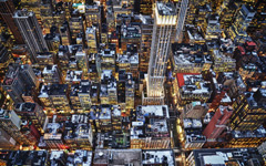 High-resolution desktop wallpaper Life in NY by david.spinnael