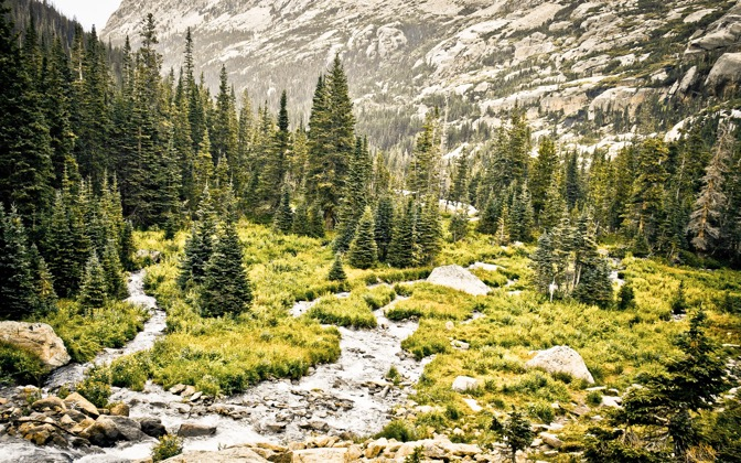 High-resolution desktop wallpaper Rocky Mountain Overcast by shalom24