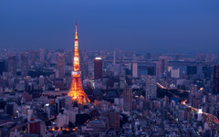 High-resolution desktop wallpaper Tokyo Skyline by nickwu78