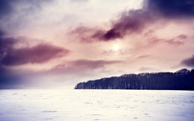 High-resolution desktop wallpaper Cold Winter by fotografieloft