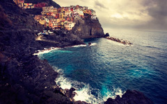 High-resolution desktop wallpaper Manarola, Cinque Terre - Take II by lmborlenghi