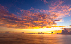 High-resolution desktop wallpaper Bali Sunset by strife