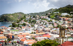 High-resolution desktop wallpaper A Grenadian Village by dannieloco