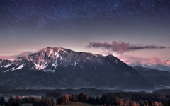 High-resolution desktop wallpaper While Waiting for Milky Way  by Jonathan Besler