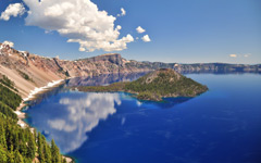 High-resolution desktop wallpaper Crater Lake by Alex92901
