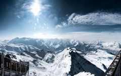 High-resolution desktop wallpaper Alp D'Huez by clickfish13