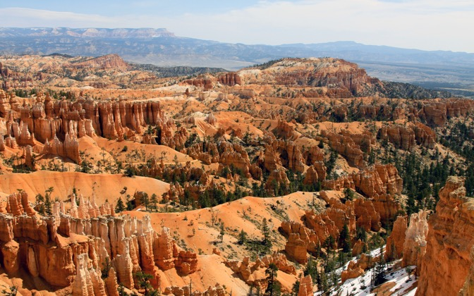 High-resolution desktop wallpaper Bryce Canyon by folchart
