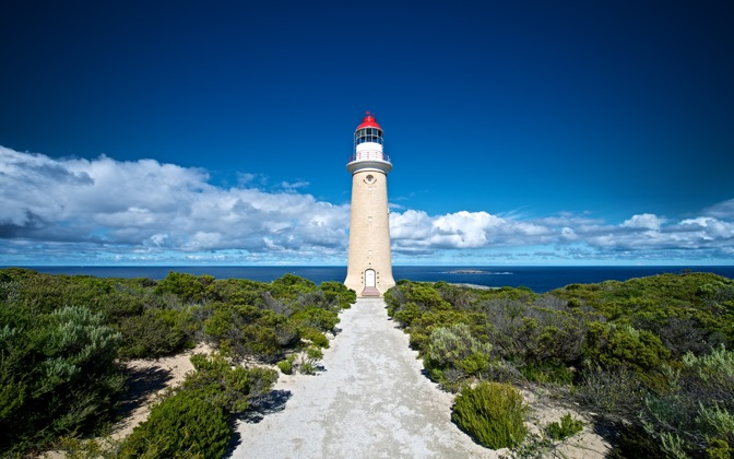 High-resolution desktop wallpaper Kangaroo Island Lighthouse by Dominic Kamp
