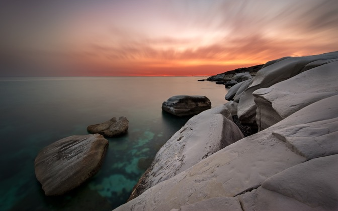 High-resolution desktop wallpaper White Rocks by hateom