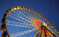 High-resolution desktop wallpaper Ferris Wheel by DerStoffel