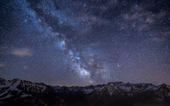 High-resolution desktop wallpaper Amazing Milky Way II by Jonathan Besler