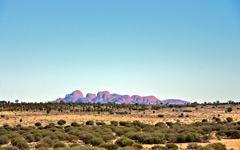 High-resolution desktop wallpaper Kata Tjuta (Mount Olga) by BloWorld