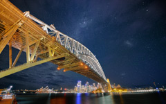 High-resolution desktop wallpaper Down Under Stars by Dominic Kamp