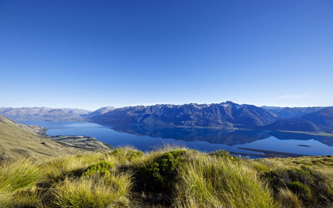 High-resolution desktop wallpaper Wakatipu Vastness by Nicolas Kamp