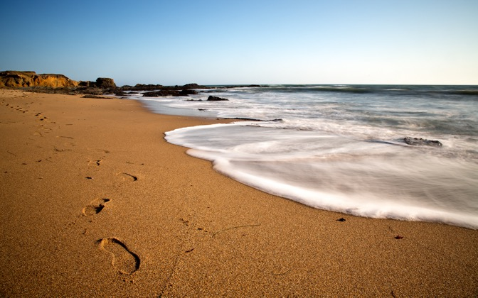 High-resolution desktop wallpaper Beach Tide by photodim