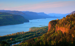High-resolution desktop wallpaper Columbia River Gorge by delta772er