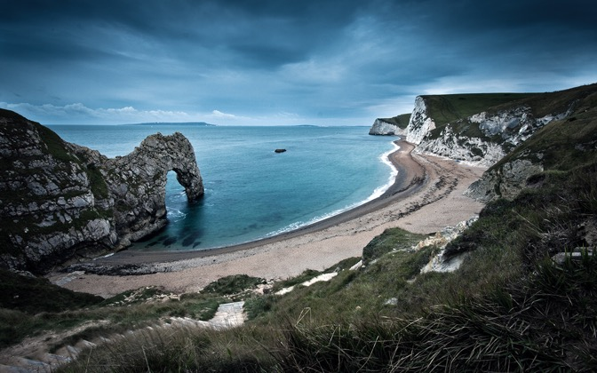 High-resolution desktop wallpaper Durdle Door by AndrewBriggs