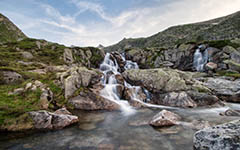 High-resolution desktop wallpaper Flowing Waters by JeremyPaillotin