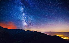 High-resolution desktop wallpaper Amazing Milky Way III by Jonathan Besler