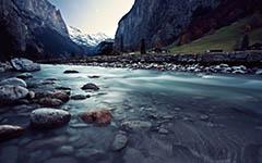 High-resolution desktop wallpaper Swiss Flow by mattjns93