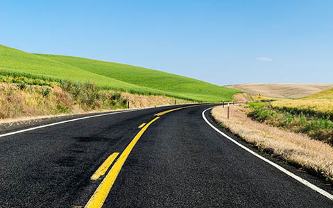 High-resolution desktop wallpaper On The Road Again by Youen California