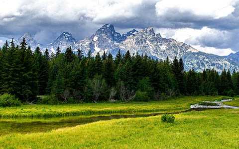 High-resolution desktop wallpaper Great Meadow by Youen California