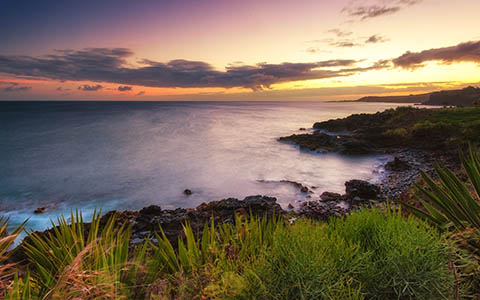 High-resolution desktop wallpaper Sunset, Hawaiian style by Josh220