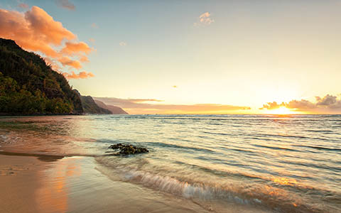 High-resolution desktop wallpaper Na Pali by Josh220
