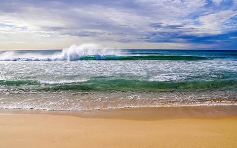 High-resolution desktop wallpaper Ocean Crash by dankjin