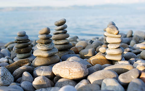High-resolution desktop wallpaper Pebble rocks by MikjoA