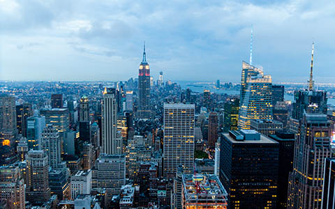 High-resolution desktop wallpaper Top of the Rock by jiahui