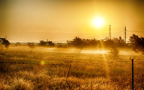 High-resolution desktop wallpaper Country Sunrise by enigma70x7