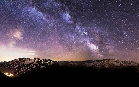 High-resolution desktop wallpaper Amazing Milky Way V by Jonathan Besler