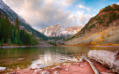 High-resolution desktop wallpaper Maroon Bells by jbkalla