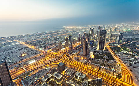 High-resolution desktop wallpaper Dubai by mediapohl