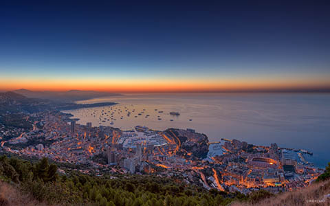 High-resolution desktop wallpaper Monaco Yacht Show 2012 HDR Panorama by Crevisio