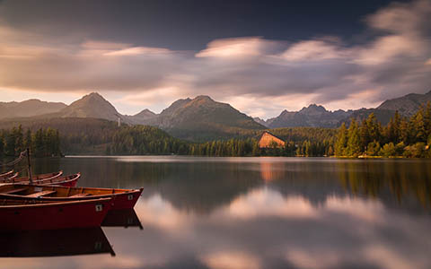 High-resolution desktop wallpaper Strbske Pleso - High Tatras by POUVA