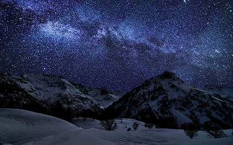 High-resolution desktop wallpaper Amazing Milky Way VI by Jonathan Besler