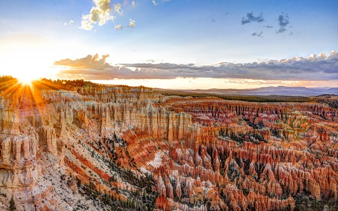 High-resolution desktop wallpaper Bryce Canyon by david8090