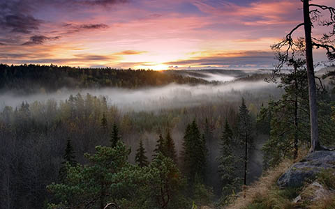 High-resolution desktop wallpaper Noux National Park by Keijo Savolainen