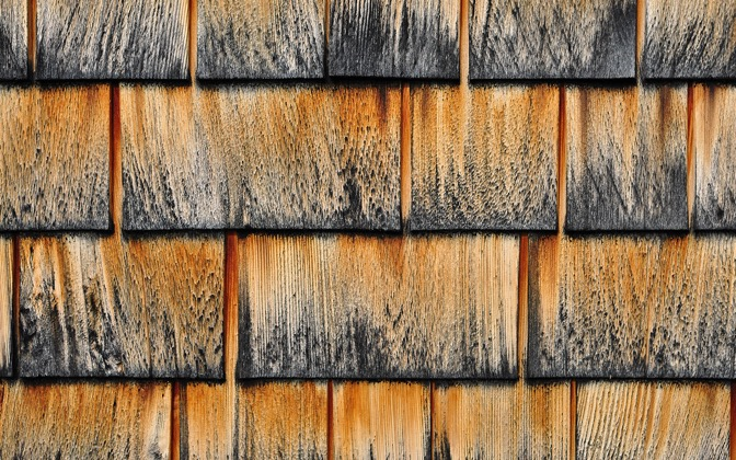 High-resolution desktop wallpaper Wood Shingles by vquick