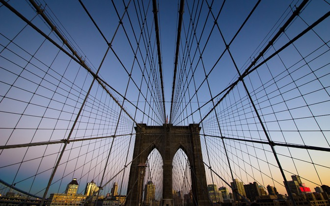 High-resolution desktop wallpaper Brooklyn Bridge Web by giel