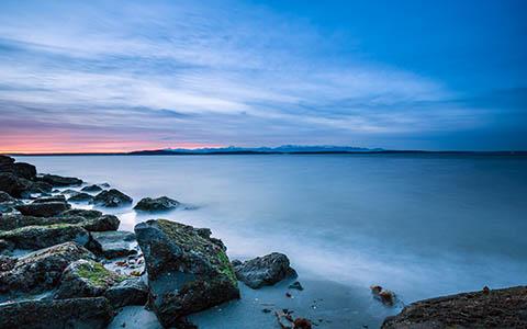 High-resolution desktop wallpaper First Sunset of 2013 by Jeffery Hayes