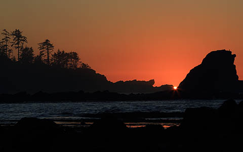 High-resolution desktop wallpaper Sunset Bay Sunset by Robert Bynum